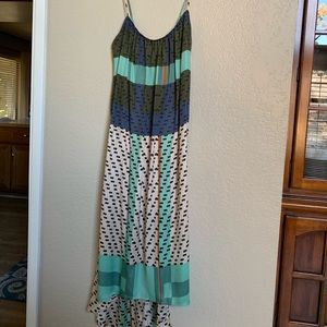 Anthropologie high-low dress